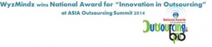 Award for innovation in outsourcing small