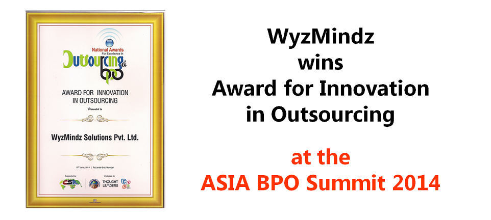 Award for innovation in outsourcing