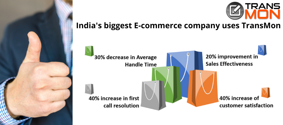 India's biggest E-commerce company uses TransMon